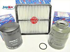 fits SUZUKI GRAND VITARA Oil Air Fuel Filter Service Kit for 2.0TD RF 1998-2001