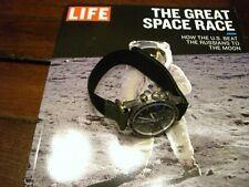 NASA Nato ® Velcro Replica Short Strap Speedmaster, Bulova Moon Watch S/N 1076