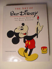 The Art of Walt Disney, Mickey Mouse, Magic Kingdoms, Chris Finch, Abrams, 1973