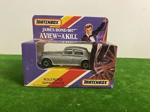 Matchbox 1985 Rolls-Royce Silver Cloud James Bond View To A Kill