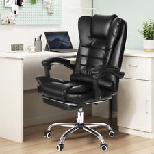 90135 Reclining High Back Office Chairbig And Tall Pu Leather Massage Execut