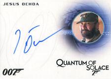 James Bond Archives 2015 Autograph Card A280 Jesus Ochoa as Lt. Orso