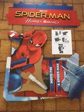 Spiderman Homecoming Movie Cardboard Display Standee 2017 Complete NEW RARE