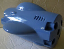 Plastic Tinker Toys Part: Blue Air Plane Body Replacement Piece Wooden Jumbo Set