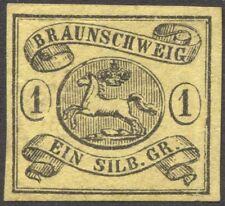 Braunschweig Mi. Nr. 6b(*) ungebraucht Befund Lange BPP 320 Euro