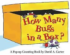 How Many Bugs in a Box? (Mini Edition): A Pop-up Counting Book by Carter, David