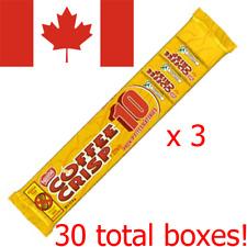 30 Coffee Crisp 11.5g Mini Chocolate Bars Nestle Canadian Candy FREE SHIP TO USA