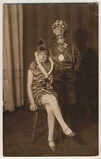 HECHINGEN Fastnacht 1928 / Kostüme / Bihler * Originale Foto-AK