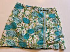 EUC Girls Lilly Pulitzer Crab Skirt/Skort Size 8