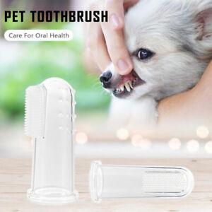 1pcs Super Soft Dog Toothbrush Pet Finger Toothbrush Plush Dog Plus Bad Breath A