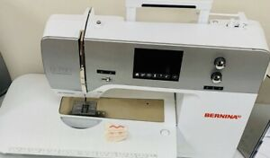 Bernina 750 QEE SEWING Machine with EMBROIDERY Module and BSR Stitch Regulator