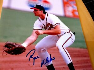 RYAN KLESKO Cincy Show Signed Braves 8x10 Baseball Photo -Guaranteed Authentic