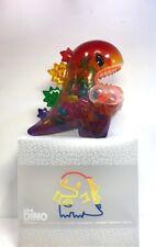Unbox Monster Ziqi Dino 300% and Mini Dino Rainbow Version Sofubi Vinyl Figure