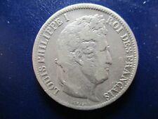 FRANCIA LOUIS PHILIPPE I 5 FRANCS 1831 B ROUEN CANTO RELIEVE  TRANCHE EN RELIEF