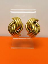 Vintage Napier Gold Tone Earrings