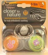 Tommee Tippee Closer to Nature 9-18m Orange Lime Green