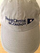 Cap Hat Frank Crystal Marine Insurance Cotton Khaki Port & Company Adjustable DF