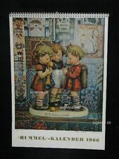 "Goebel Hummel Kalender Calendar 1966, Titelbild ""'s Meisterstück"""