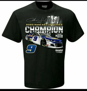 Chase Elliott #9 Napa 2020 Nascar Cup Series CHAMPION YOUTH T-shirt XS - LG