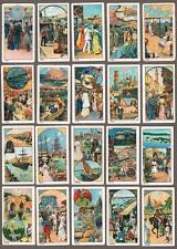 1912 ITC C41 Around The World Tobacco Cards Complete Set of 50