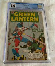 Green Lantern #1 CGC 5.0 1960 1292807002 1st app Guardians of the Universe Comic