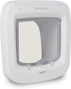 PetSafe Microchip Activated Cat Flap, Exclusive Entry,Easy Install,4-Way Locking