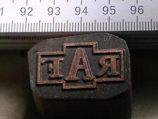 RAF LOGO schöner Oldtimer Stempel / Siegel aus Metall