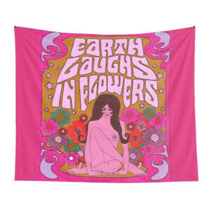 COLORFUL NUDE GIRL WALL DECORATION TAPESTRY WALL HANGING NUDE WOMEN ART TAPESTRY