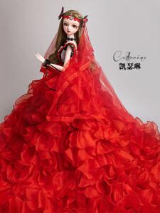 """New 1/3 Handmade PVC BJD MSD Lifelike Doll Joint Dolls Girl Gift Catherine 24"""""""