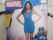 Marvel Captian America American Dream Tank Dress Costume Dress Up Medium 6 8 10