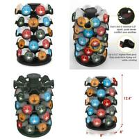 Coffee Pod Storage Round Organizer Pods Carousel Display K-Cup Holder For 40 Pcs