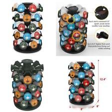Coffee Pod Storage Round Organizer Pods Carousel Display K-Cup Holder For 40 Pcs