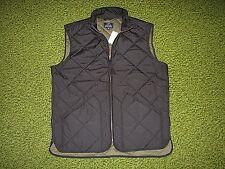 $150. Men's Black Quilted Vest (S) J. CREW
