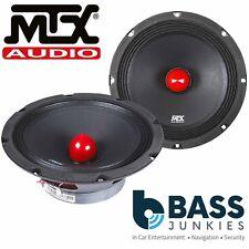 "MTX RTX88 450 Watts 8"" 20cm 8 ohm Single Voice Coil Midbass Bullet Sub Speaker"