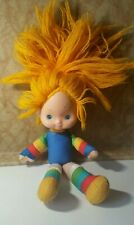 Vintage 1983 Rainbow Brite Doll Hallmark Cute Kawaii Upcycle