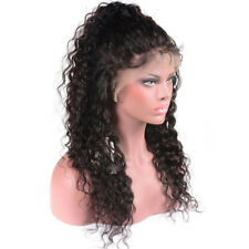 Brazilian Water Wave Lace Front Synthetic Hair Wigs Pre Plucked Natural Hairline