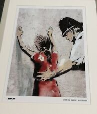 Banksy Stop and Search Limited Edition Print