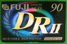 Fuji drii 90 Cromo Alta Sesgo Cinta de Cassette De Audio Marca Nuevo y Sellado