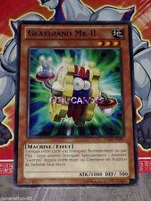 Carte YU GI OH GEARGIANO MK-II TITRE BLEU DL18-FR007