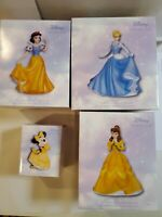 Precious Moments Disney Figurines For Girls or collectors. Lot of 4