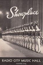 "RADIO CITY MUSIC HALL ""SHOWPLACE"" PROGRAM ~ ELIZABETH TAYLOR - 1954"