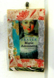 Unique Handmade COLLAGE on Mini CANVAS Marie Antoinette, Vintage Papers, Fabrics