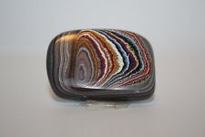 AUTHENTIC CORVETTE PAINT LAYERS POLISHED NUGGET CABOCHON FORDITE RARE  V109