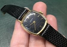 Authentic OMEGA 14k Vintage Mechanical Ladies Square Watch ~  Rare