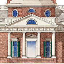 Monticello Virginia Thomas Jefferson print, Signed by author! 51x32cm-20x12.5in.