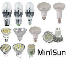 MiniSun LED Daylight Spotlight Ceramic High Powered Bulbs Various