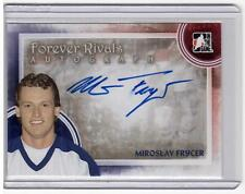 MIROSLAV FRYCER 11/12 ITG Forever Rivals Auto Autograph A-MF Blue Maple Leafs