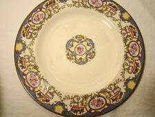 "Morgan American Belleek Azure Pattern Service Plate 10 9/16"" dia c.1924-1929"