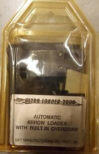 Ultra Loader 2000 Automatic Arrow Loader Rest w/ Built In Overdraw old stock