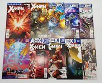 Uncanny X-men 3 6 7 8 9 10 11 12 15 & 600 Volume 2 2012 Marvel Comic Book Lot